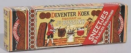 Een andere 'Lange Deventer Koek'.