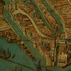 Detail van het schilderij uit 1538.