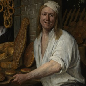 Bakker Arent Oostwaard en zijn vrouw Catharina Keizerswaard, Jan Havicksz. Steen, 1658 - kopie (2)