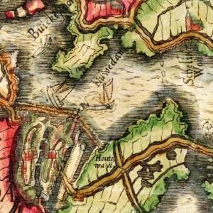 Caerte van Noorthollant, Joost Janszoon Bilhamer 1575 (2)