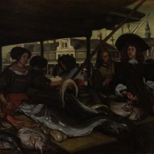 De Nieuwe Vismarkt te Amsterdam, Emanuel de Witte, 1655 - 1692 - kopie