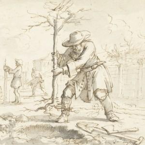 Het planten van bomen, Jan Luyken, 1660 - 1712 - kopie