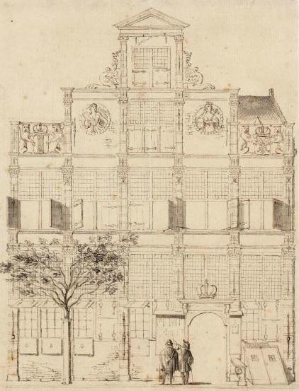 Hotel de Keizerskroon, het gebouw waar het eerste Burgerweeshuis in was gevestigd.