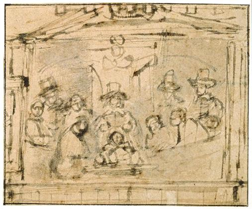 Situatieschets Rembrandt 1656